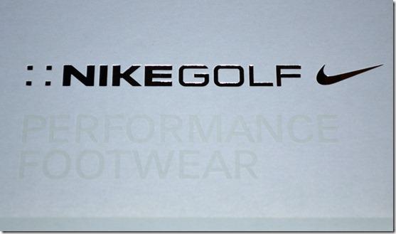 Golf shoe box