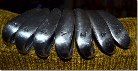 Used iron set
