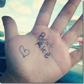 Bea hand 8-1-12