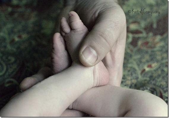 Baby Liam newborn 11