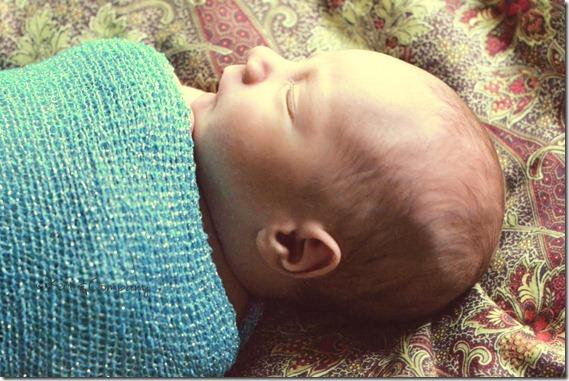 Baby Liam newborn 6
