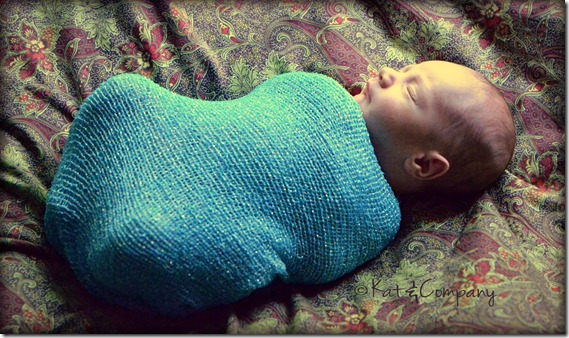 Baby Liam newborn 7